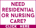 Need residential or nursing care but concerned about Covid-19? Contact a local care home now for the reassurance you need.