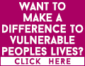 Want to make a difference to vulnerable people lives