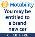 Receiving higher rate DLA or enhaced? You may be entitled to a brand new car even if you cannot drive yourself. Contact a local Motability dealership today. Motability, the leading car scheme for disabled people