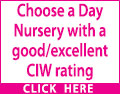 Looking for a Day Nursery for your child? Then ensure they receive the very best of care. Choose a Day Nursery with a good/excellent CIW rating