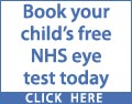 1 in 5 children in the UK have an undiagnosed eye condition. More than 80% of learning is visual. Book your child's free NHS eye test today