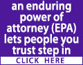 If you lose the ability to make certain decisions yourself an enduring power of attorney (EPA) lets people you trust step in quickly, easily & legally. Take Positive action now – Contact a local solicitor for help and advice today.