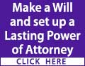 Ease the burden on your loved ones. Make a Will and set up a Lasting Power of Attorney. Contact a local solicitor for help and advice today.
