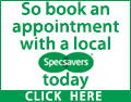 Regular eye tests are vital to maintaining your health. They can reveal problems such as high blood pressure and diabetes so book an appointment with a local Specsavers today