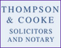 Thompson & Cooke Solicitors and Notoray